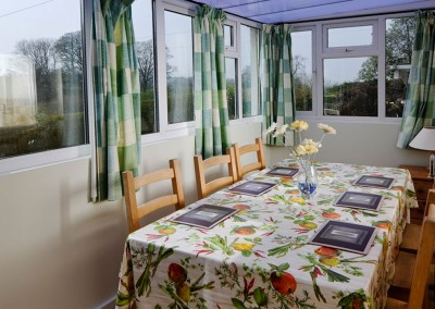 Greymare Cottage Dining Room