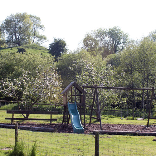 Enjoy your holiday at Gorwell Farm - Play areas for the everyone