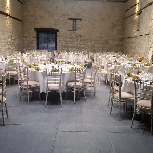 Your Wedding at The Barn at Gorwell Farm - table layout ideas